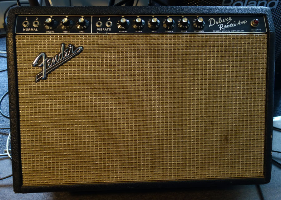 Fender Deluxe Reverb - 1966 Original Pre-CBS Tube Amplifier With Spring Reverb